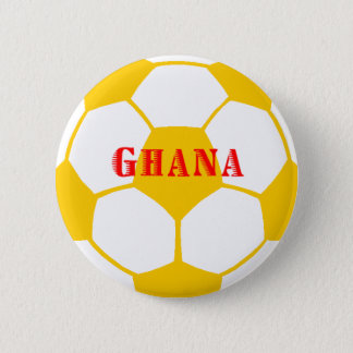 Ghana football 6 cm round badge