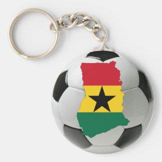 Ghana national team basic round button key ring