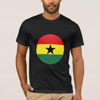 Ghana quality Flag Circle T-Shirt