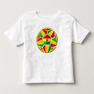 Ghana The Black Stars soccer ball Ghanaian flags Toddler T-Shirt