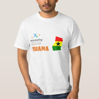 Ghana Volunteer T-shirt - Volunteering Solutions