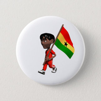 Ghanaian Boy 6 Cm Round Badge