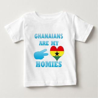 Ghanaians are my Homies Baby T-Shirt