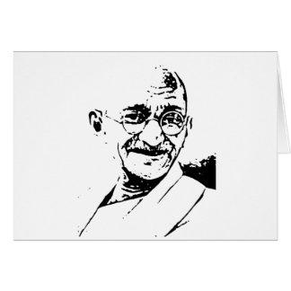 Ghandi Greeting Cards