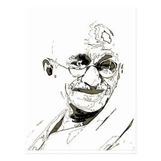 Ghandi inspiration post cards