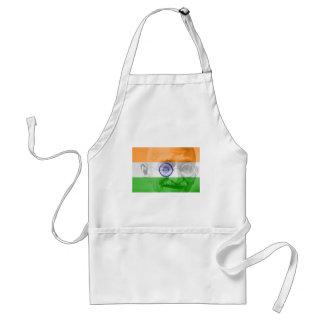Ghandi on Indian Flag Aprons