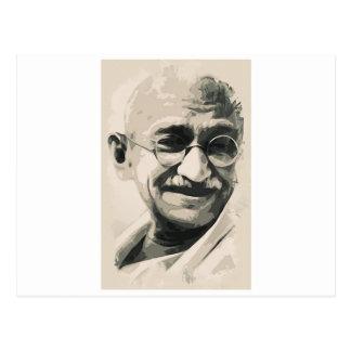 Ghandi smile post cards