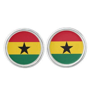 Ghanian flag Cufflinks