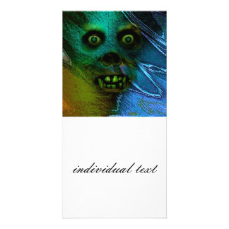 Ghastly Ghoul Photo Card