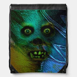 Ghastly Ghoul Cinch Bag