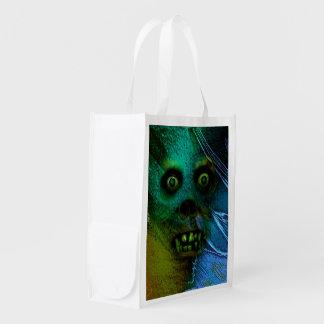 Ghastly Ghoul Reusable Grocery Bag