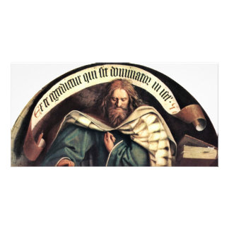 Ghent Altar Altar Of The Mystic Lamb, Right Outsid Personalised Photo Card