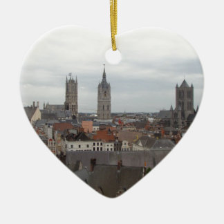 Ghent Ceramic Ornament