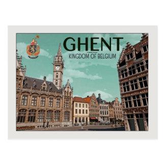Ghent - Korenmarkt Postcard
