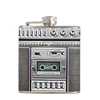 GHETTO BLASTER HIP FLASK