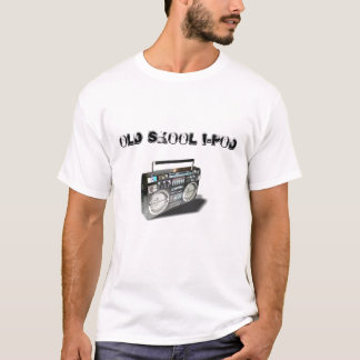 ghetto_blaster, OLD SKOOL I-POD T-Shirt