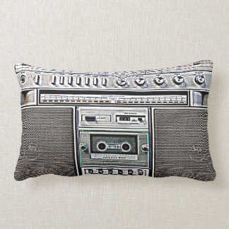 GHETTO BLASTER THROW CUSHION