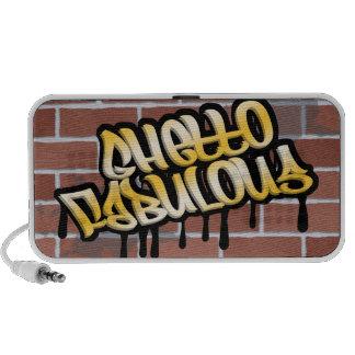 ghetto fabulous graffiti ghetto design mini speakers