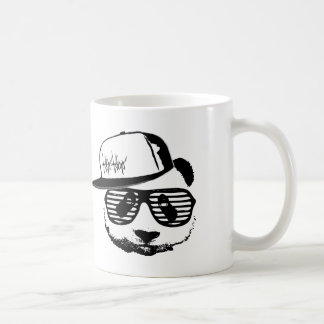 Ghetto panda basic white mug