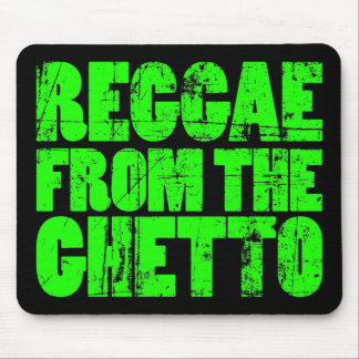 Ghetto Reggae - Mouse Pad (Green)