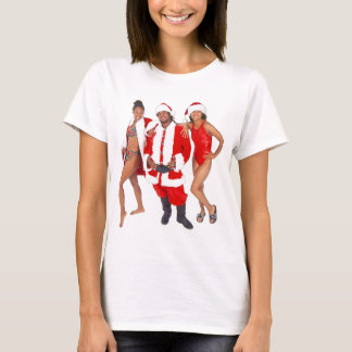 Ghetto Santa and his Elves from the Hood T-Shirt
