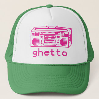 ghetto trucker hat