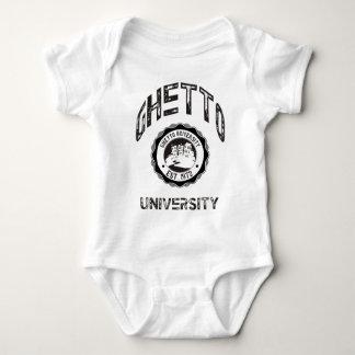 Ghetto University Baby Bodysuit