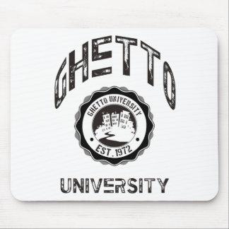 Ghetto University Mouse Pad