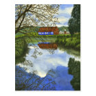 Ghirardelli Barn - Mini Collectable Prints Postcard