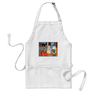 Ghost amore adult apron
