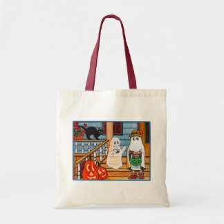 Ghost amore budget tote bag