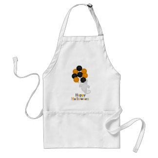 Ghost and Balloons Happy Halloween Standard Apron