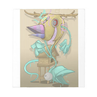 Ghost Animal Notepad
