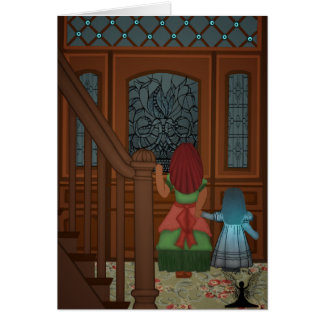 Ghost at the Door Mythic Fairy Art Card