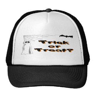 Ghost Bat Trick or Treat Trucker Hat