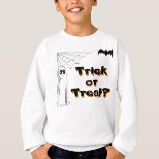 Ghost Bat Trick or Treat Sweatshirt