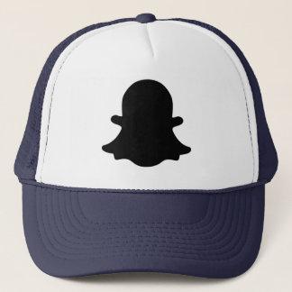 Ghost -  Black Trucker Hat