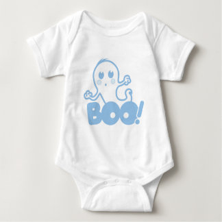 Ghost - Boo! (Blue) Baby Bodysuit