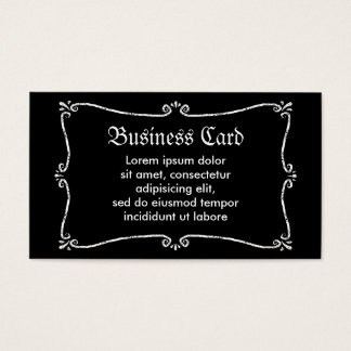 Ghost Boo Business Card