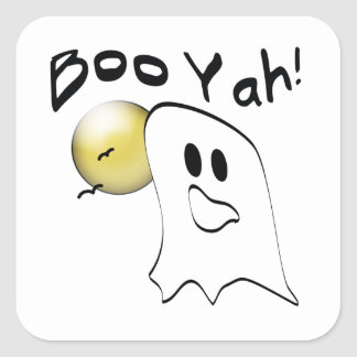 Ghost Booyah Square Sticker