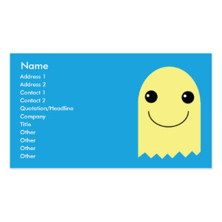 Ghost - Business Pack Of Standard Business Cards