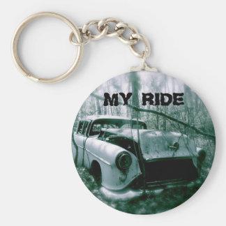 Ghost car keychain