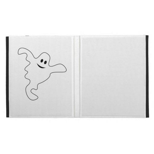 ghost iPad folio cover