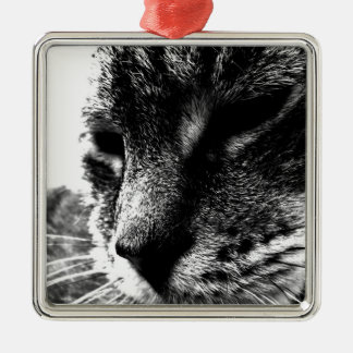 Ghost Cat Christmas Tree Ornament
