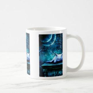 Ghost Cat Mug