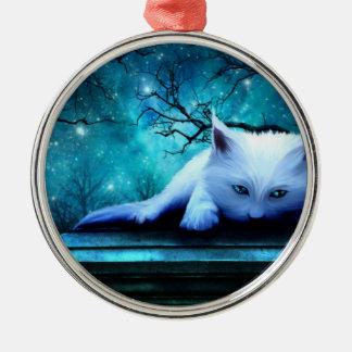 Ghost Cat Ornament