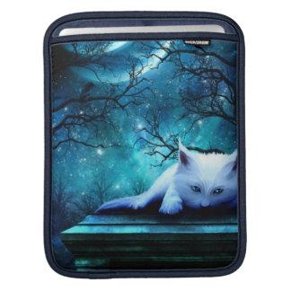Ghost Cat Rickshaw Sleeve Sleeve For iPads