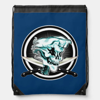 Ghost Chef Skull Backpack