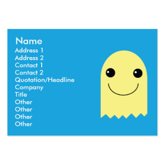 Ghost - Chubby Business Cards