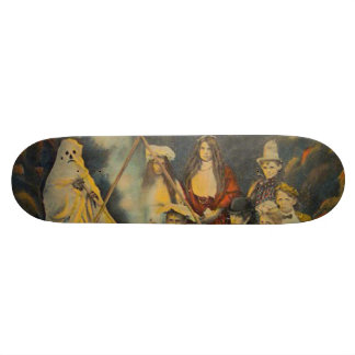 Ghost Cowboy Costume Trick Or Treat Skateboard Decks